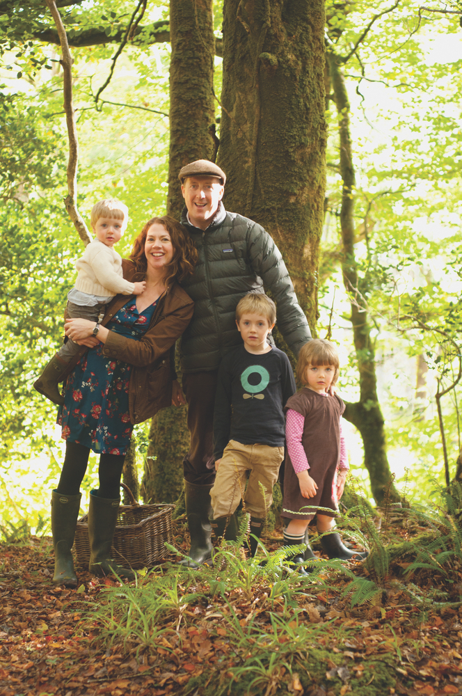 Cliodhna Prendergast and family Western Ireland Connemara Life Magazine