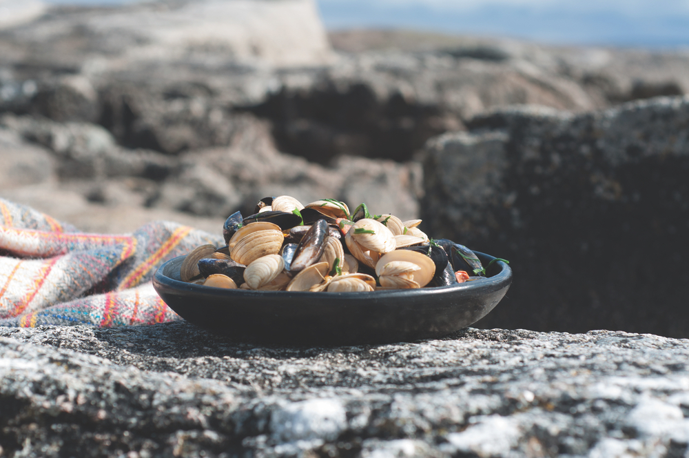 Mussels and Clams Recipe Breaking Eggs Connemara Life 2016