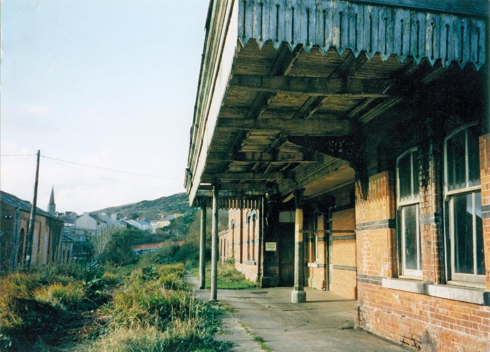 Old railway station Clifden Railway Connemara Life 2016 Voyager
