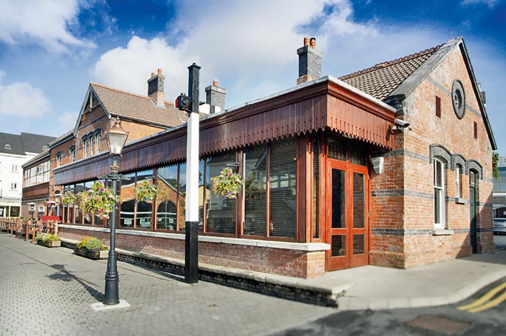 Clifden Station House Railway exterior Connemara Life 2016 Travel Voyager