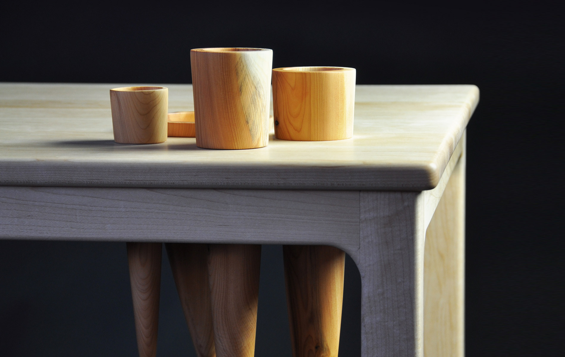 Landscape 1 Desk With Maple And Yew By Gabriel Hielscher Galway Photo Geraldine