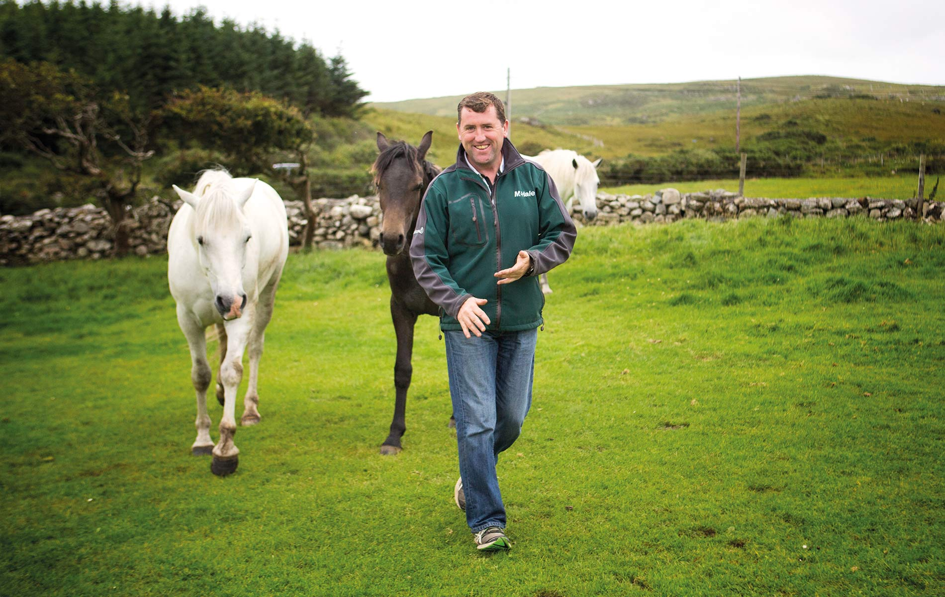 A Family Affair Malachy Gorham on Glenbricken Farm Connemara Life travel horses