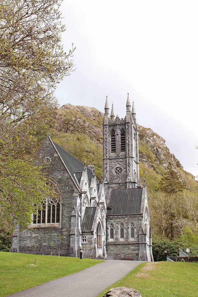 Gothic Church at Kylemore Abbey built in memory of Margaret Mitchell Connemara Life 2016