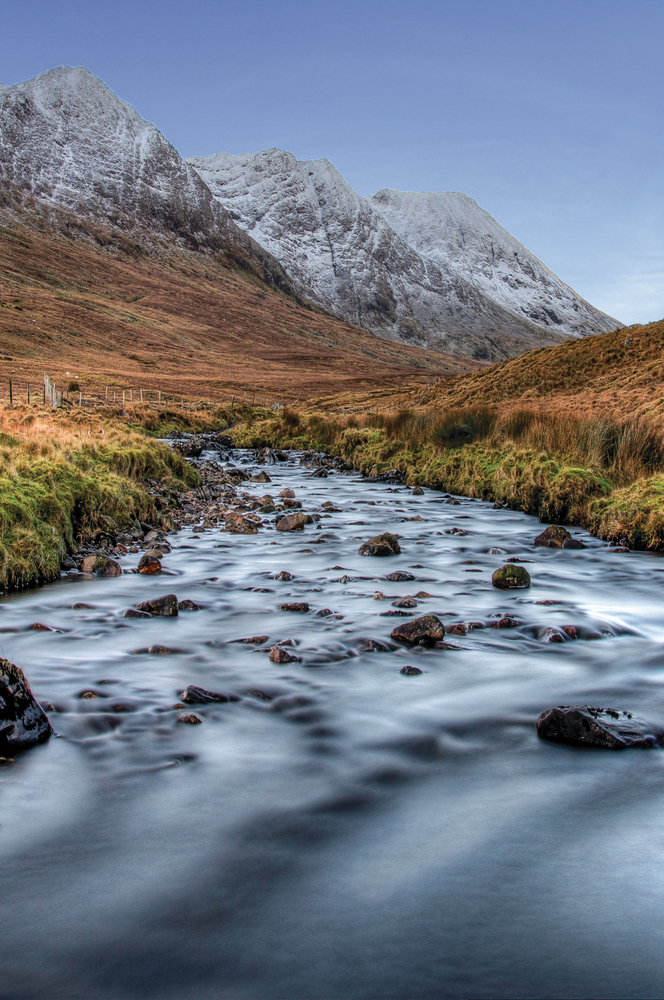 River flowing through Ireland West Coast Photo by Trevor Dubber