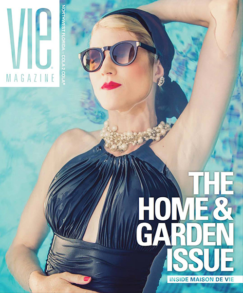 Lauren Spring of the Krickets on the Cover of VIE magazine photographed by Romona Robbins