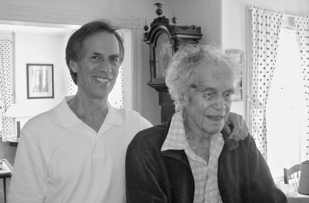 Author John Thorndike and his father, Joseph J. Thorndike alzheimers