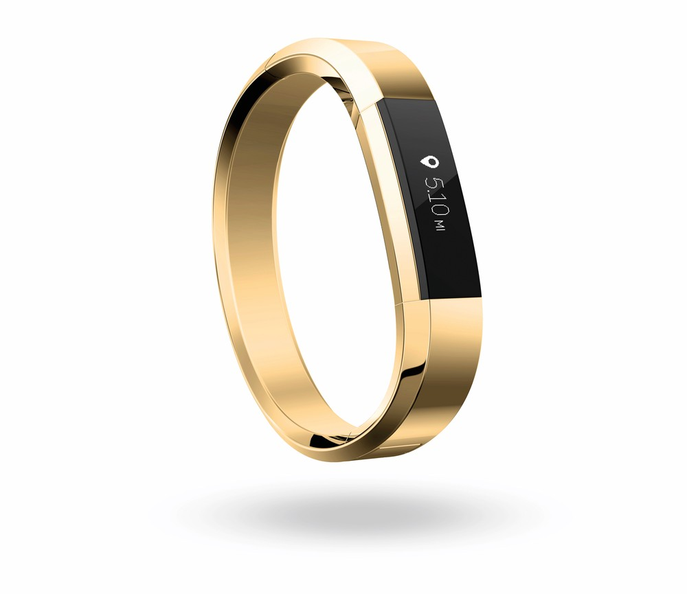 Fitbit Alta Accessories in Gold Cest la VIE Health and Beauty luxury products