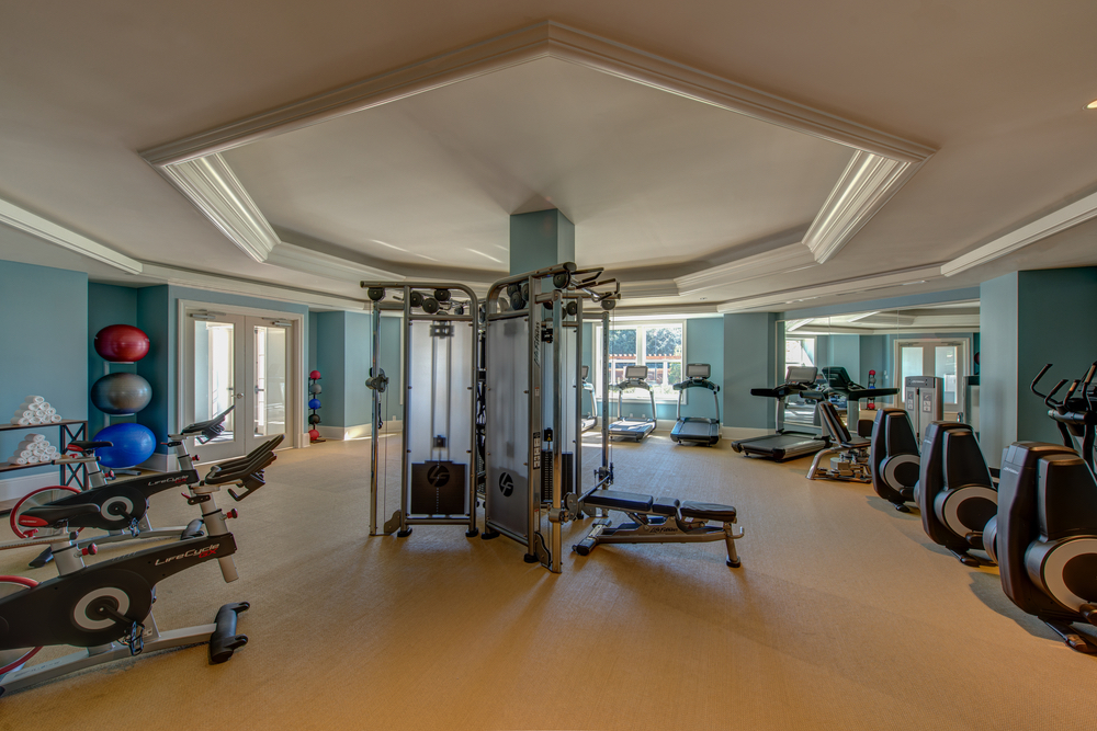 Gym facilities at Henderson Inn Beach Resort Spa