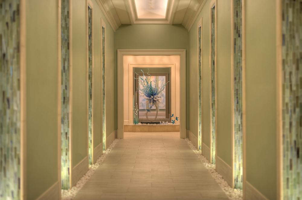 Enchanting hallway at Henderson Inn Beach Resort Spa