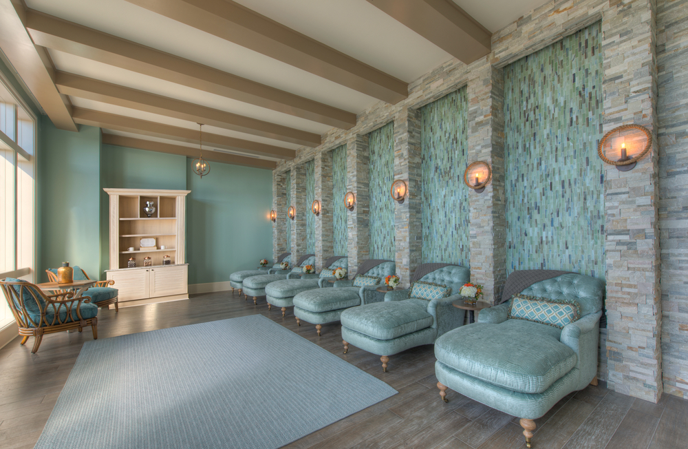 Lounging room at Henderson Inn Beach Resort Spa