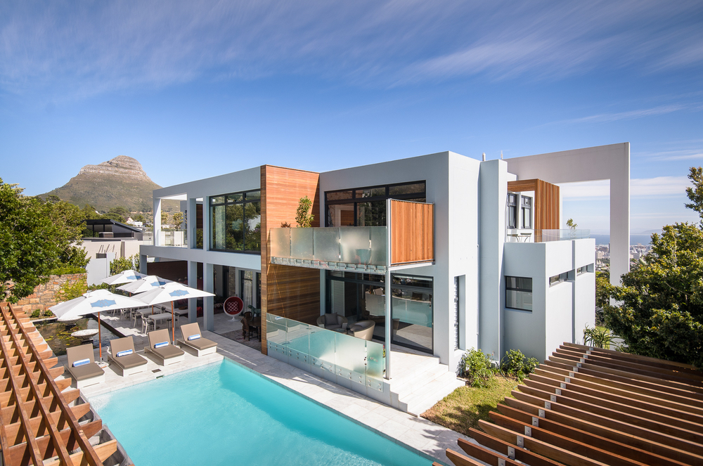 Exterior pool shot at MannaBay in Cape Town, South Africa