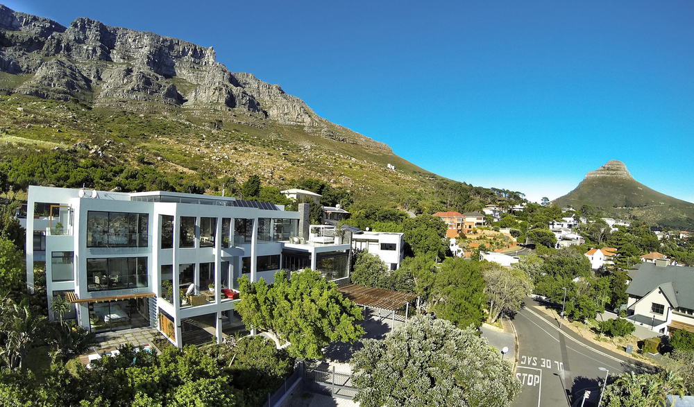 Exterior shot of MannaBay in Cape Town, South Africa