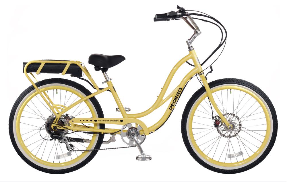 Beach cruiser electric bike Pedego Electric bicycle