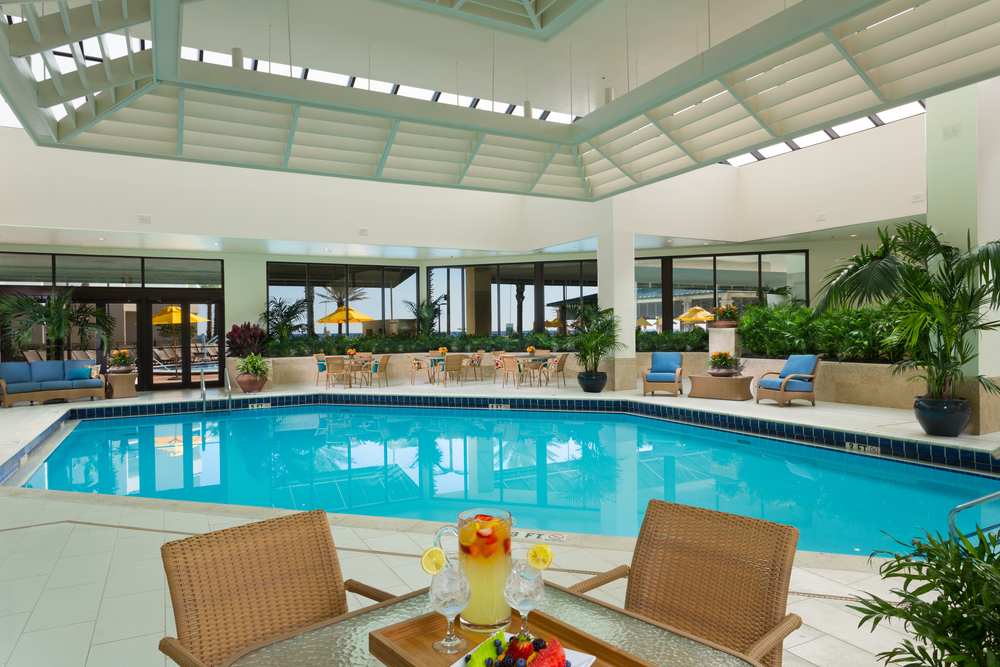 Indoor Pool at Serenity by the Sea Spa in Miramar Beach, Florida