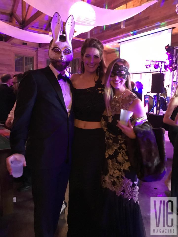 Guests at Hannah Martin's Party La Lumiere A Masquerade Affair 2017