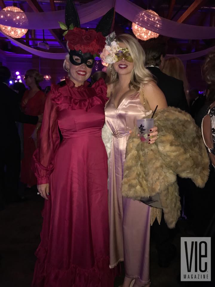 Guests at Hannah Martin's Party La Lumiere A Masquerade Affair 2017