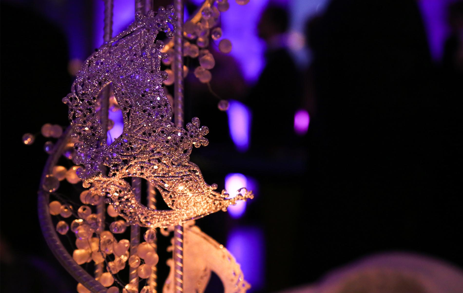 Mask at Hannah Martin's Party La Lumiere A Masquerade Affair 2017