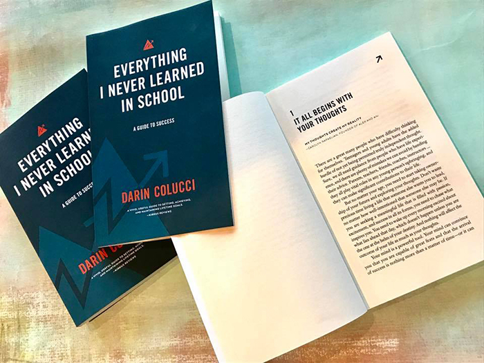 Darin Colucci's success book Everything I Never Learned in School