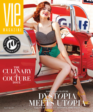 VIE magazine 2017 March-April Cover South Walton Fashion Week