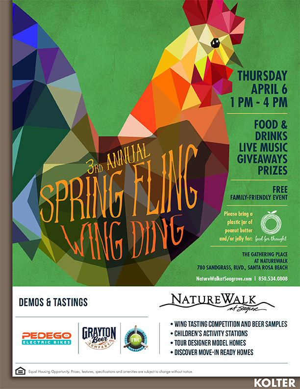 NatureWalk at Spring Fling WingDing's springtime celebration