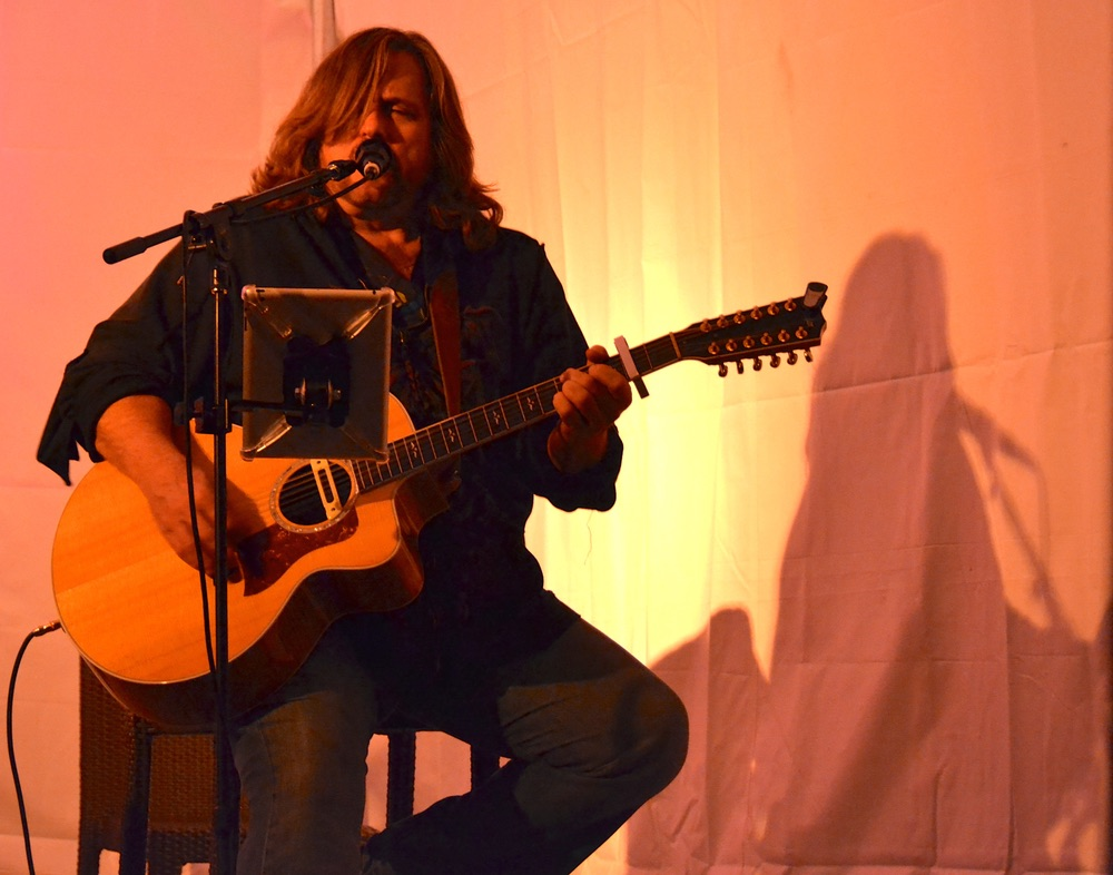 Chas Sanford performs at 2015 30A Songwriters Festival