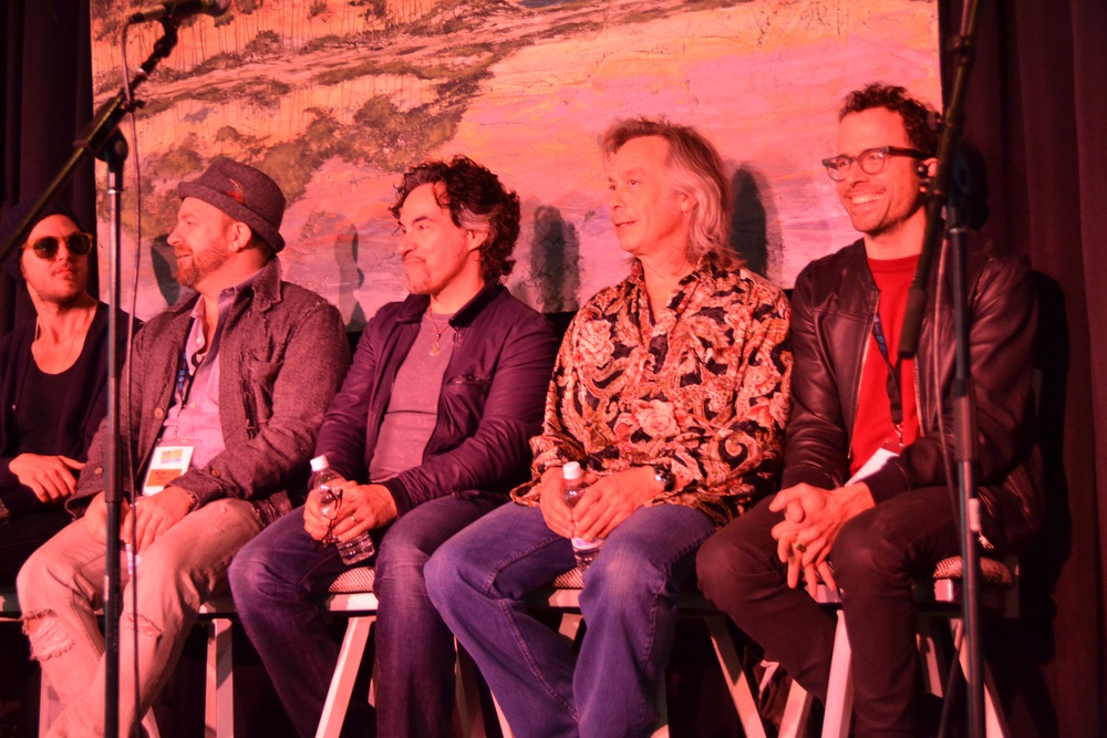 Artists attending the 30A Songwriters Festival press panel