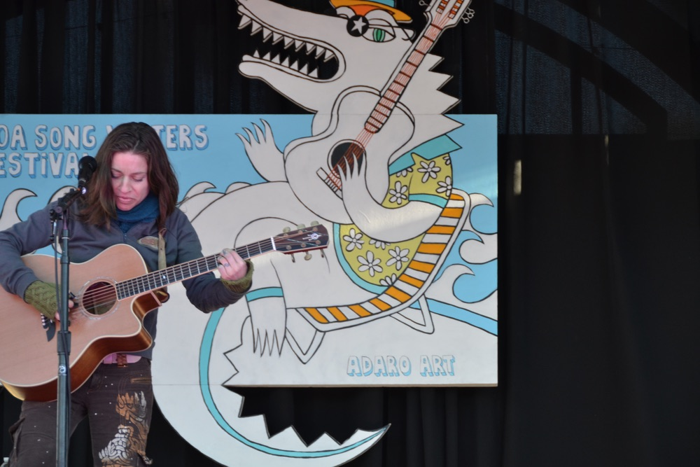 Ani DiFranco performs at 2015 30A Songwriters Festival