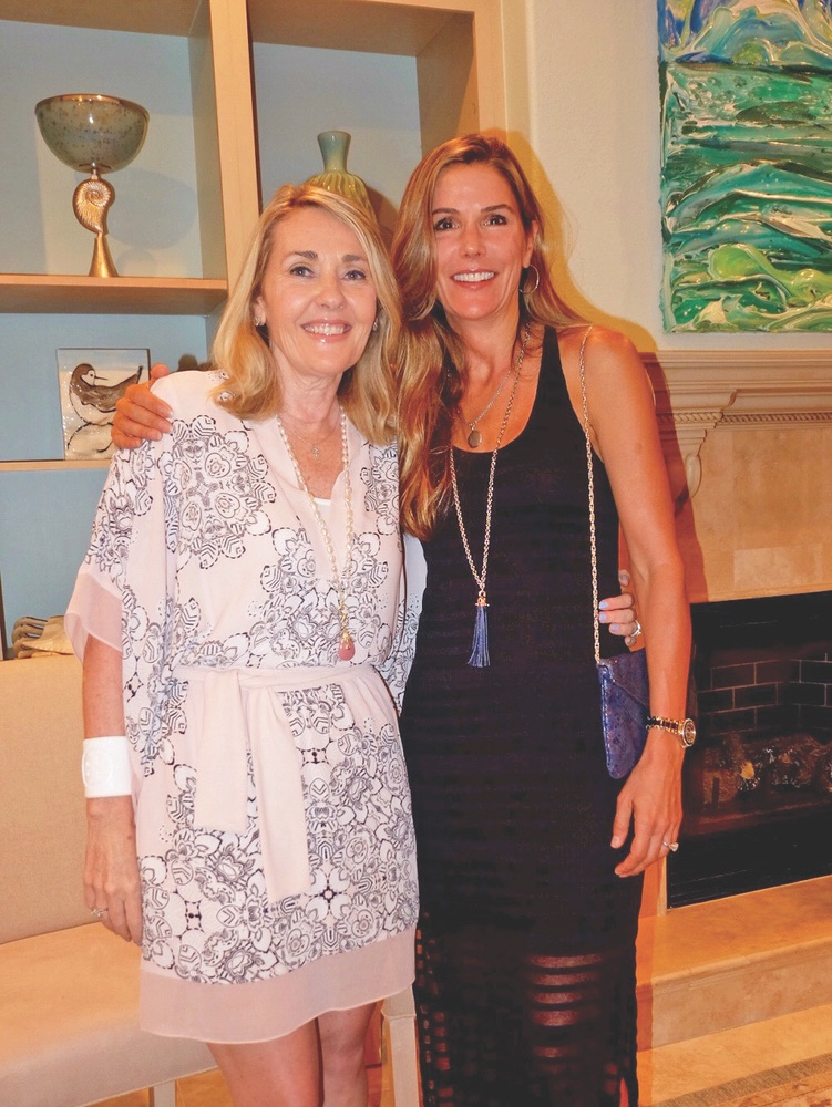 Alaqua Animal Refuge Charity Event, Lisa Burwell and Sandy Weiner, Photo by Kelly Beasley