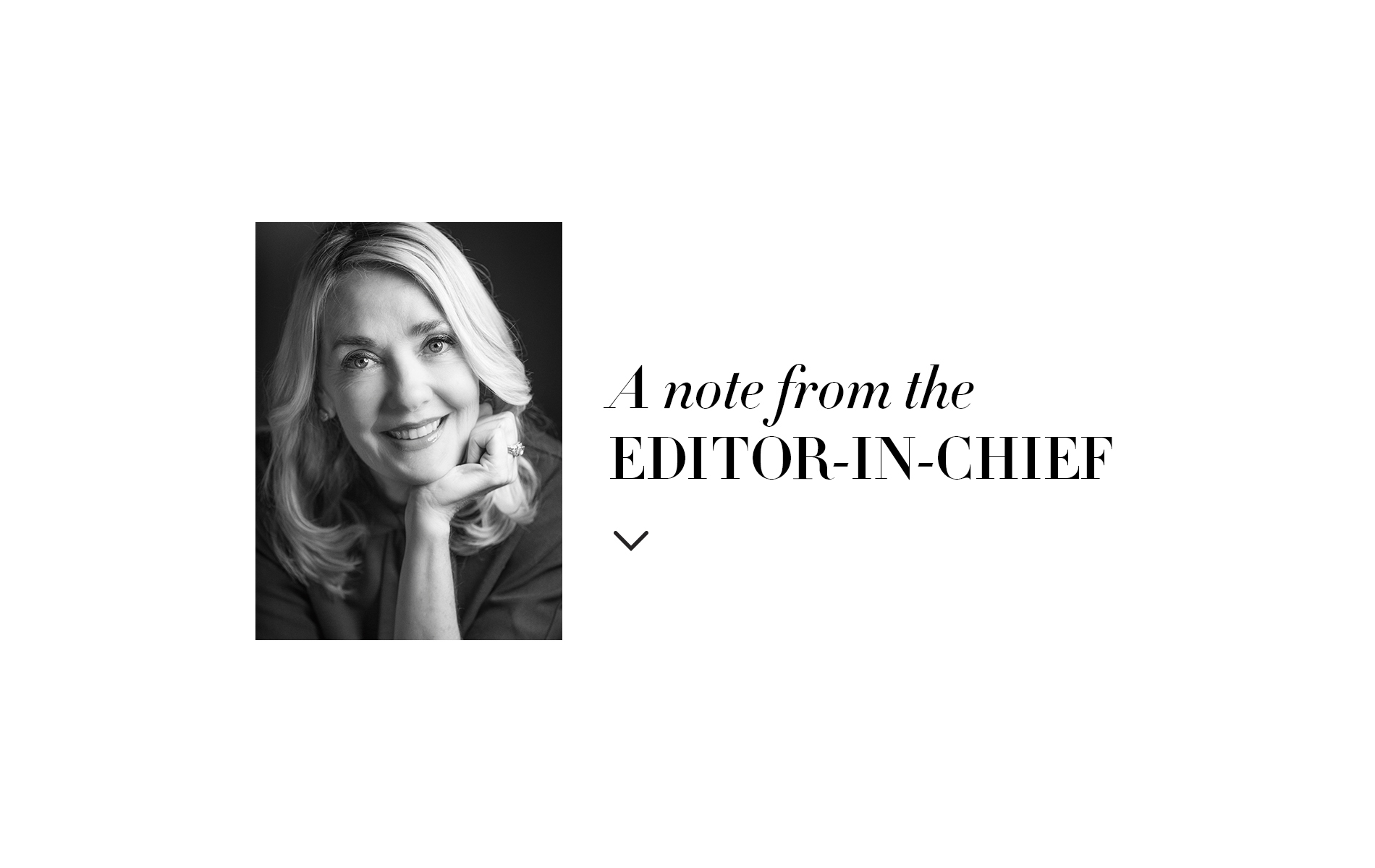 Editor in Chief Lisa M Burwell Editor's Note Doing Good in a Changing World