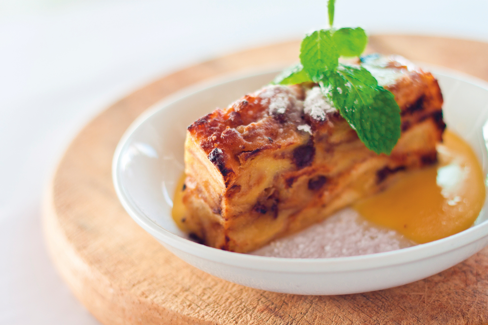 Colleen Sachs homemade family recipe for Meemaw's Bread Pudding with Lemon Sauce