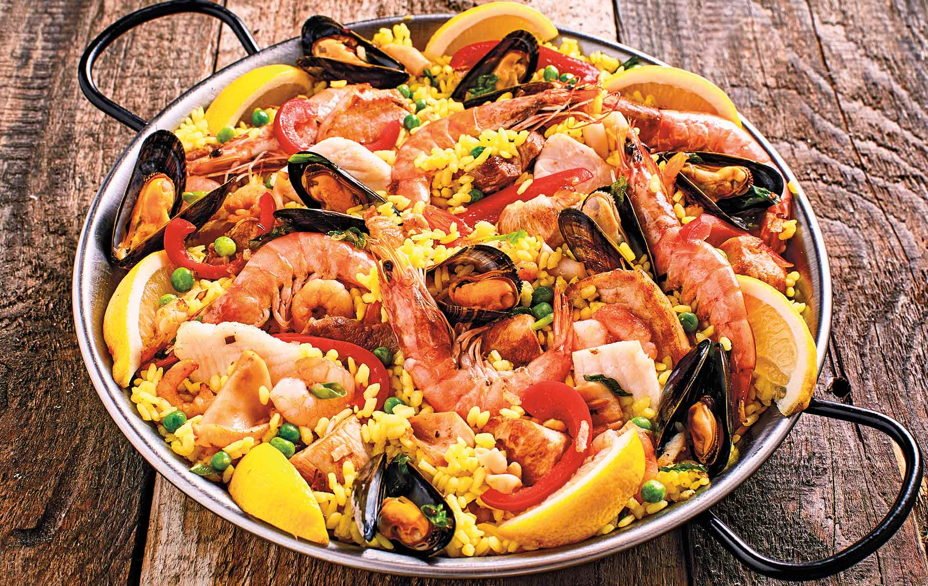 Colleen Sachs homemade family recipe for Seafood Paella