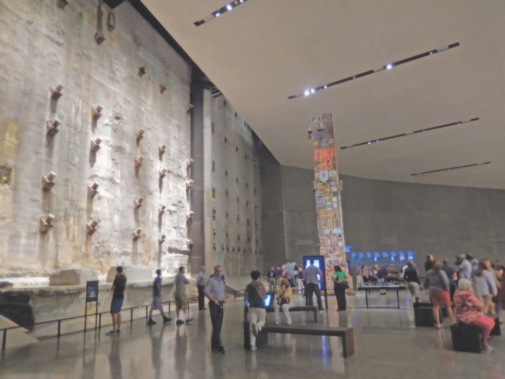 September 11 World Trade Center Memorial Museum Lobby