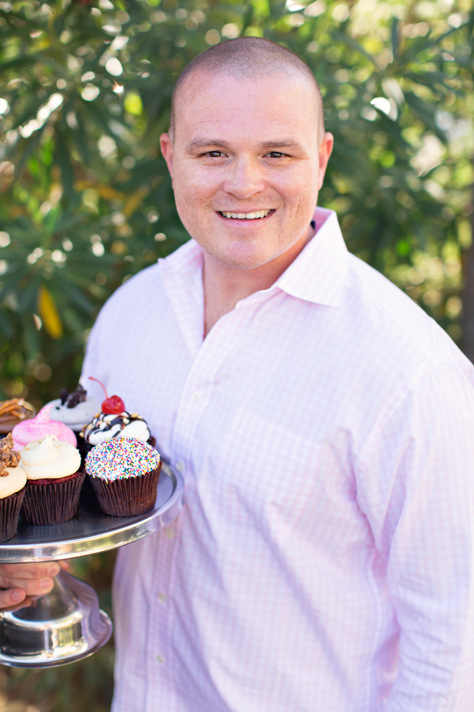 Jeff Martin, founder of Smallcakes Cupcakery and Creamery