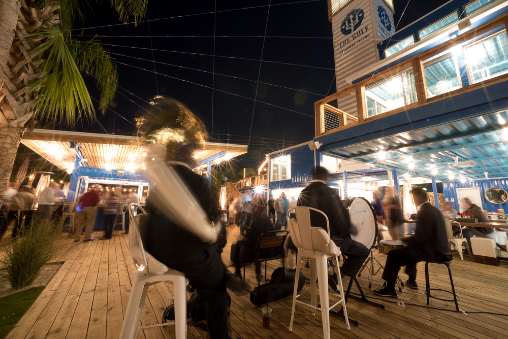 Live music at The Gulf on Okaloosa Island outdoor ambience fresh seafood