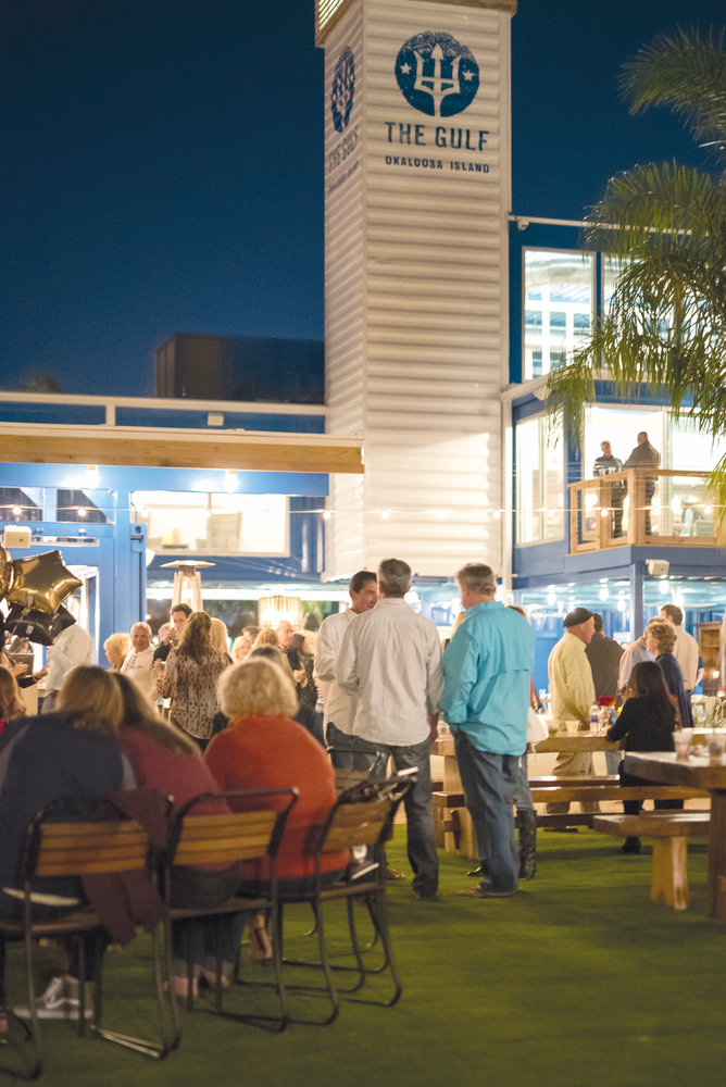 The Gulf Restaurant Okaloosa Island Culinary and Couture Outdoor Ambience