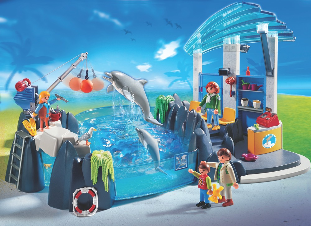 Playmobil Dolphin Basin Set
