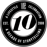 Medallion to celebrate VIE Magazine 10 Year Anniversary