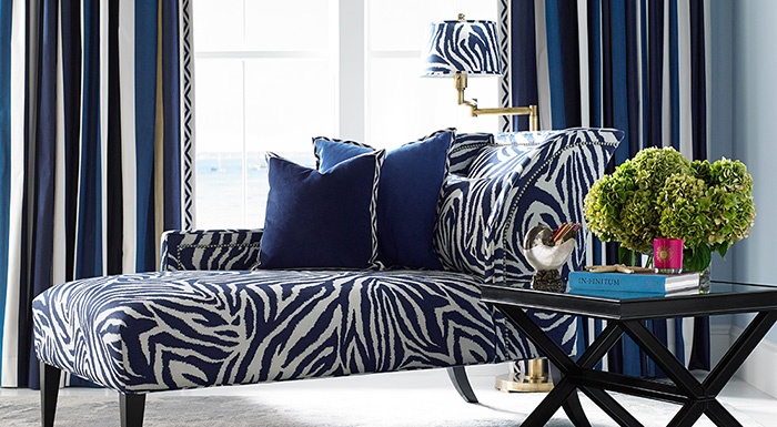 Diane Von Furstenberg Home Collection for Kravet Zebra Print