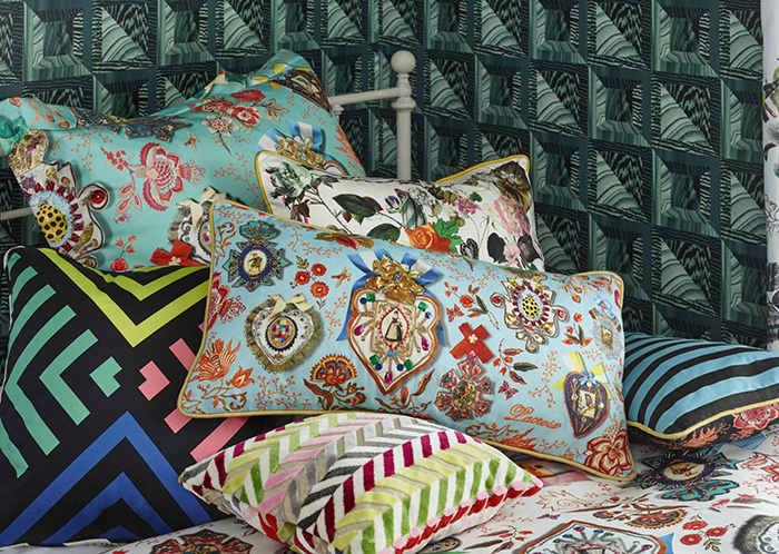 Christian Lacroix Home Collection 2017 pillows