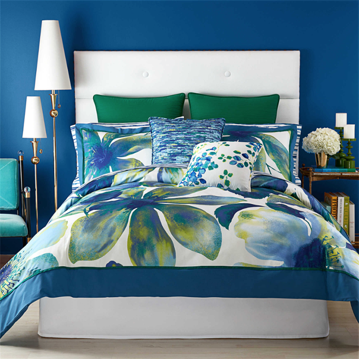 Christian Siriano for Bed Bath and Beyond Watercolor Bloom Bedding