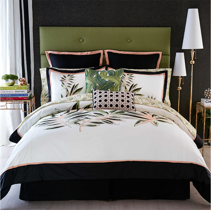 Christian Siriano for Bed Bath and Beyond Watercolor Tropical Bedding