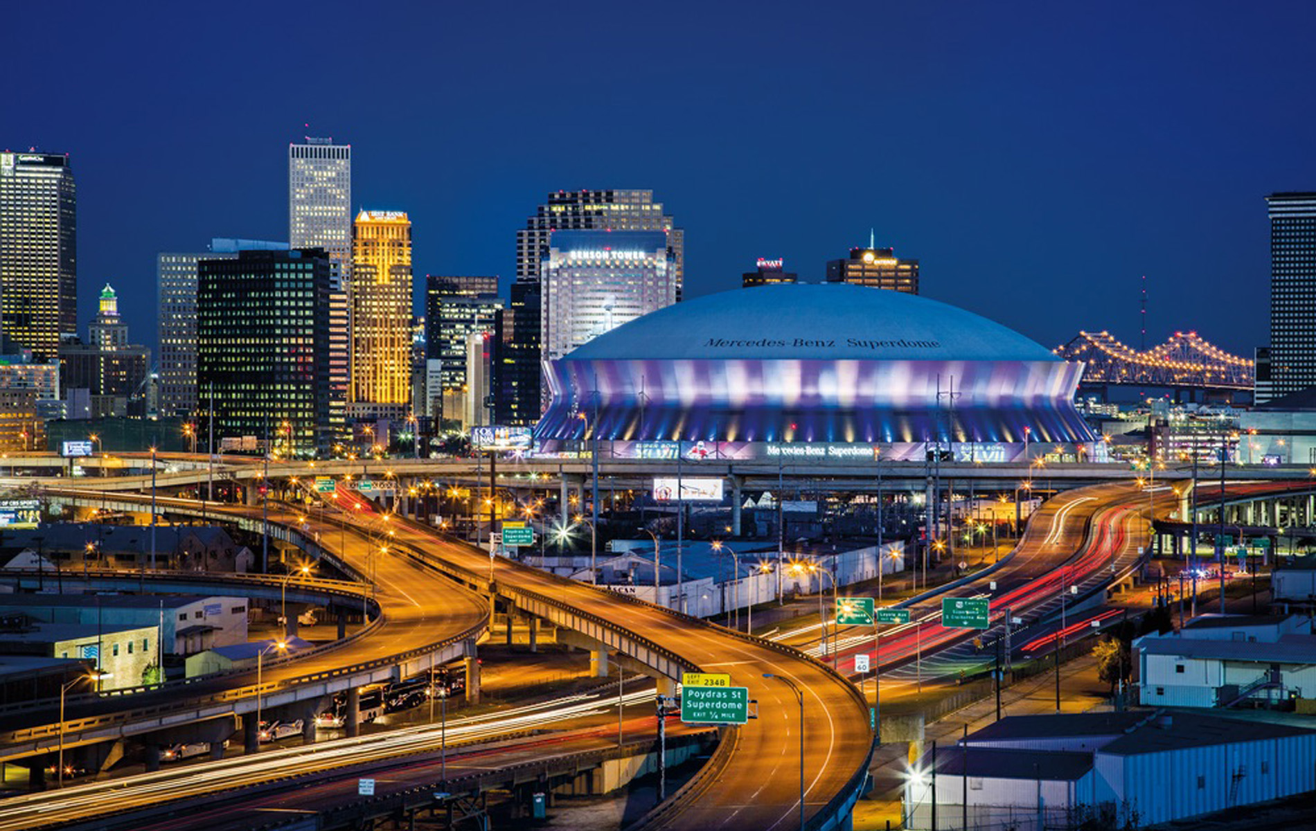 City view of New Orleans Louisiana