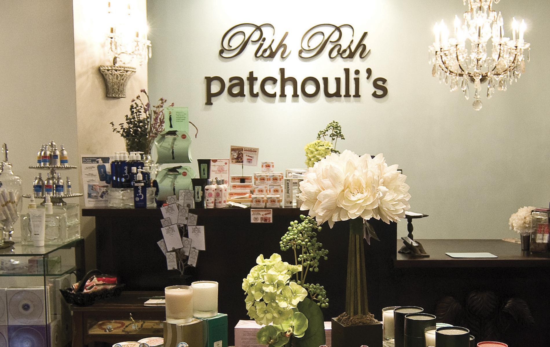 Pish Posh Patchouli's; desk
