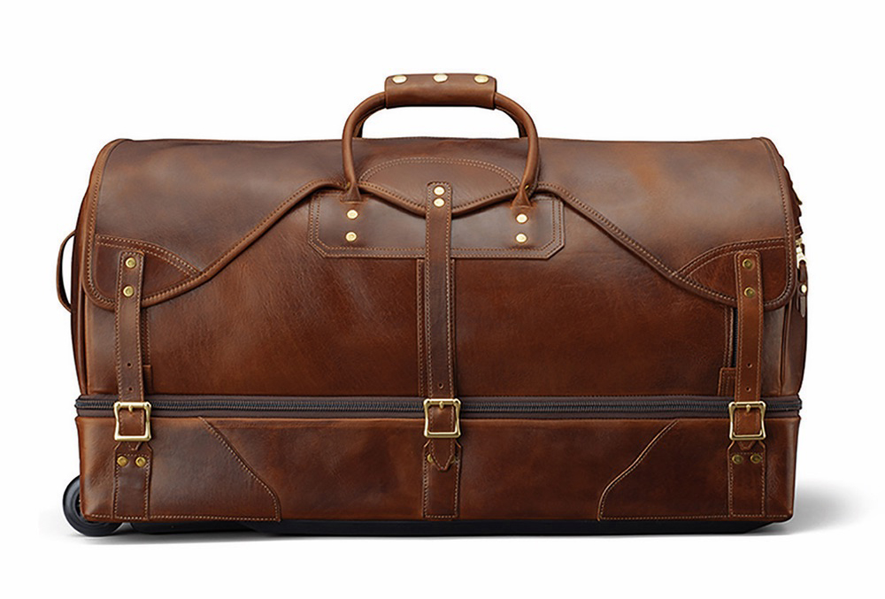C'est la VIE Curated Collection; Large Rolling Duffle Bag