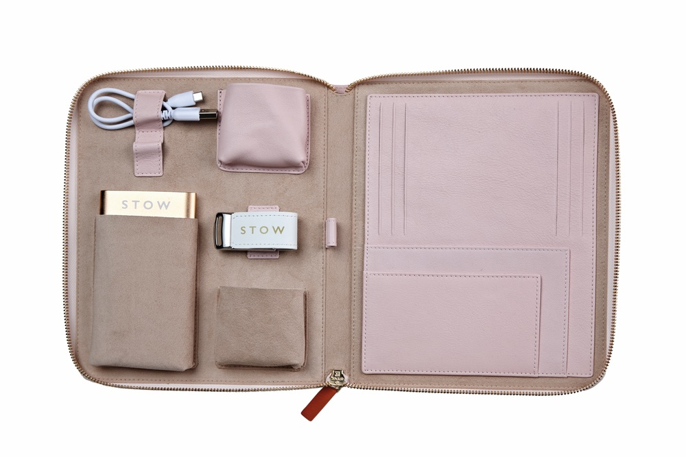 C'est la VIE Curated Collection; The First Class Leather Tech Case