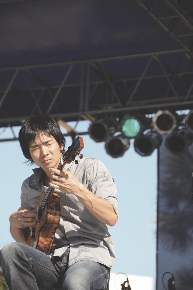 Jake Shimabukuro; guitar