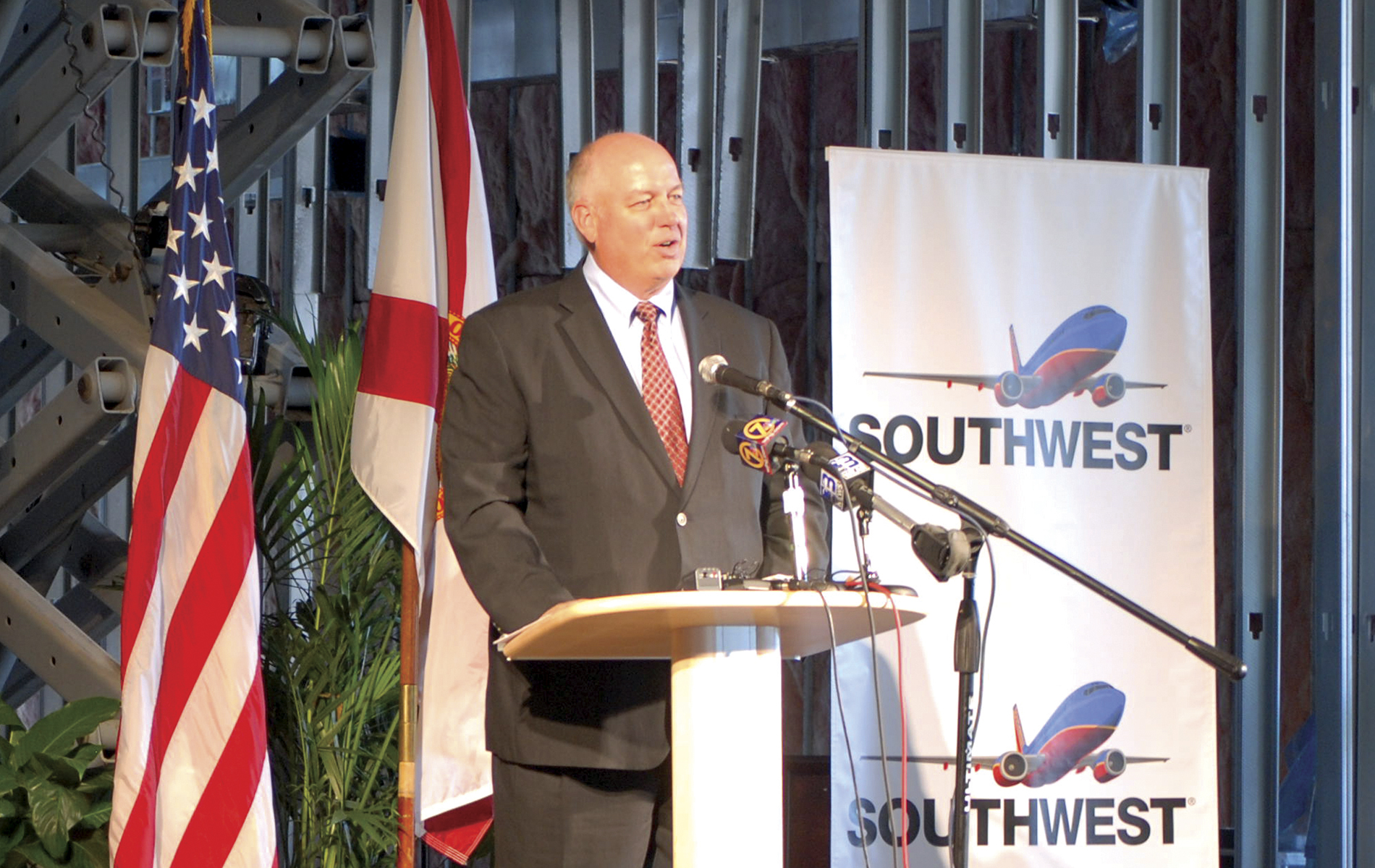Bob Montgomery; Southwest Airlines