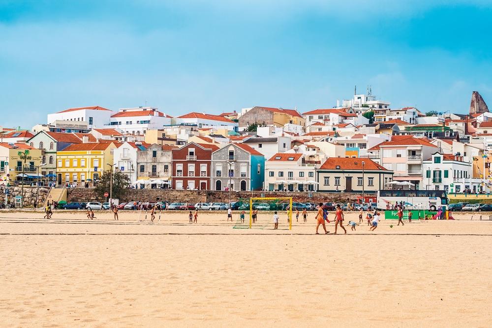 The beach at Figueira da Foz