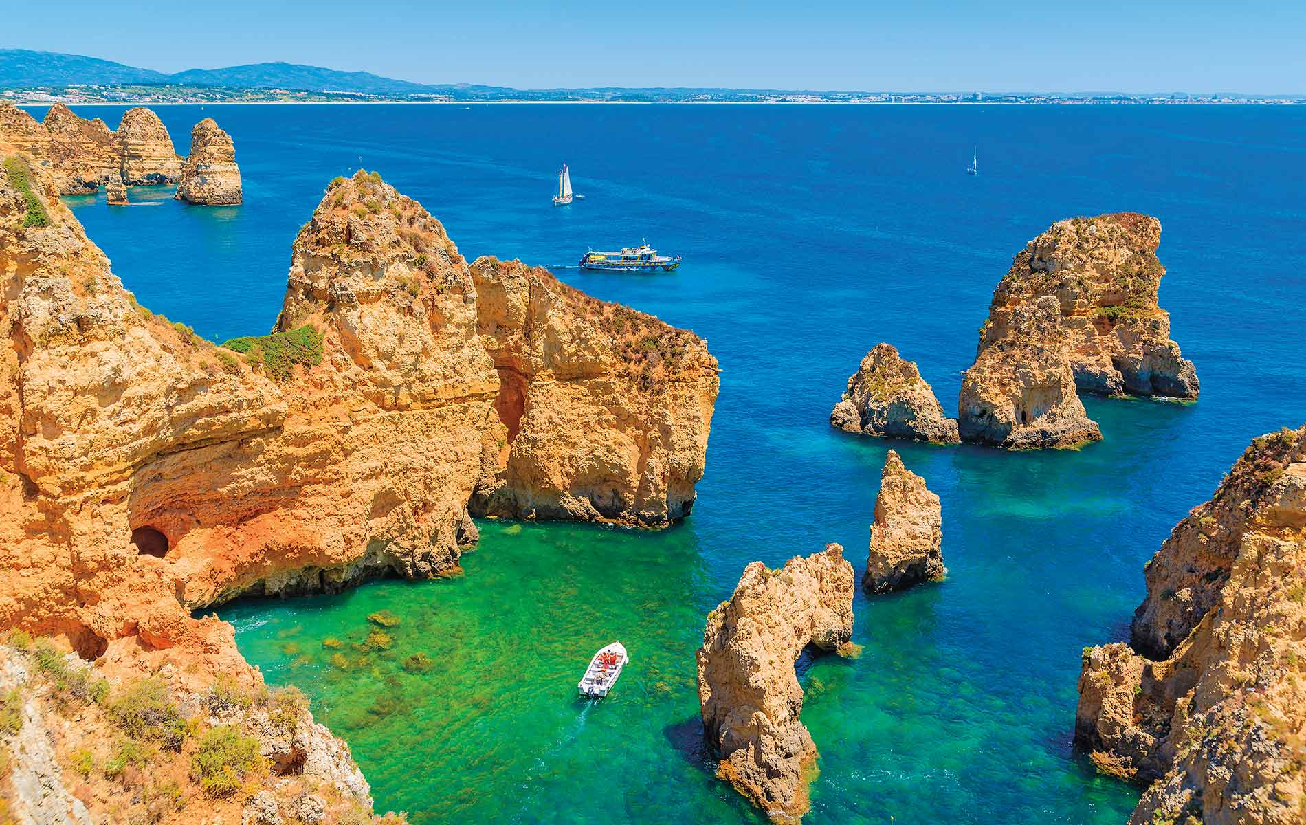 Ponta da Piedade in Portugal's Algarve region
