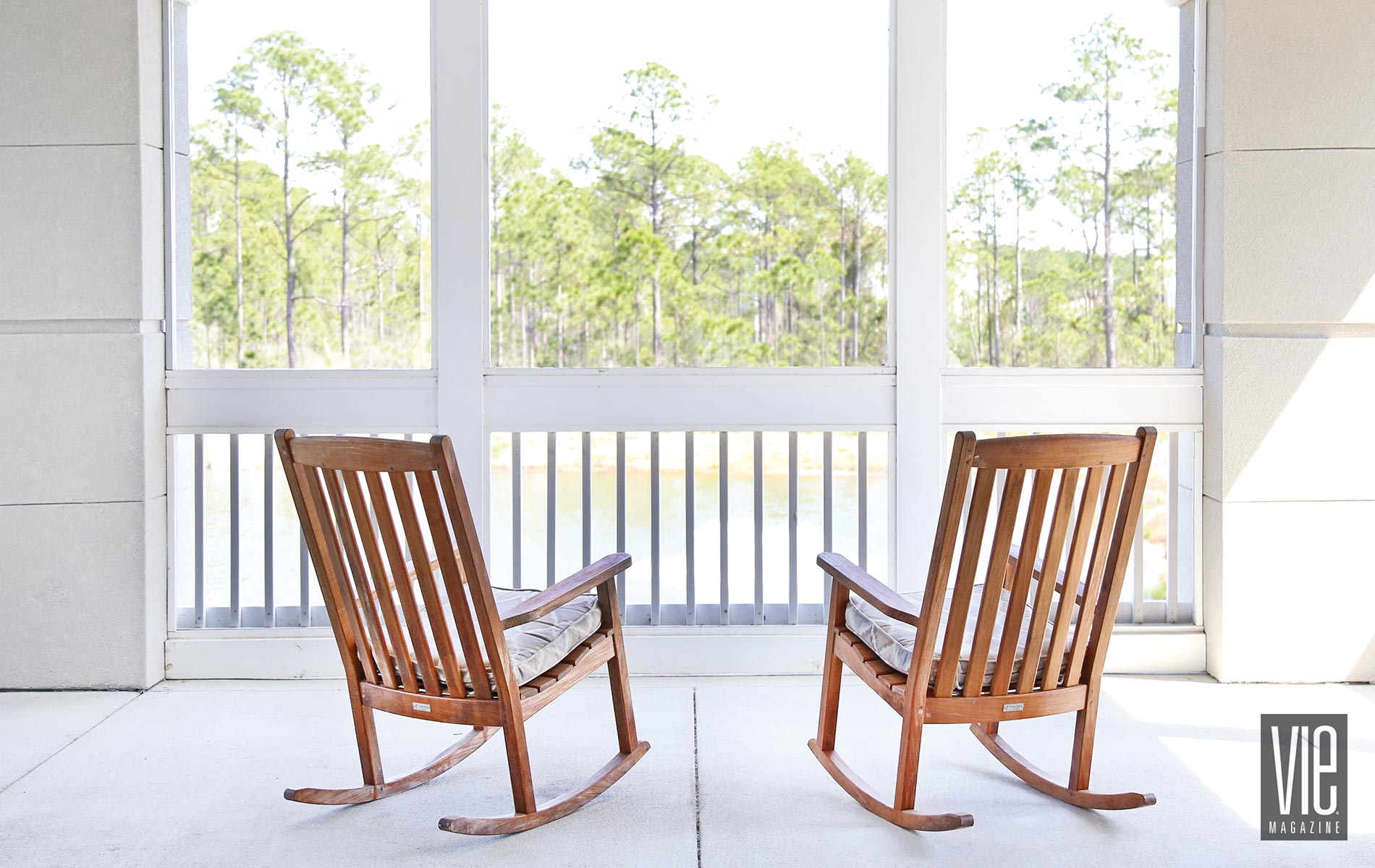 Somerby; Santa Rosa Beach; porch; rocking chairs